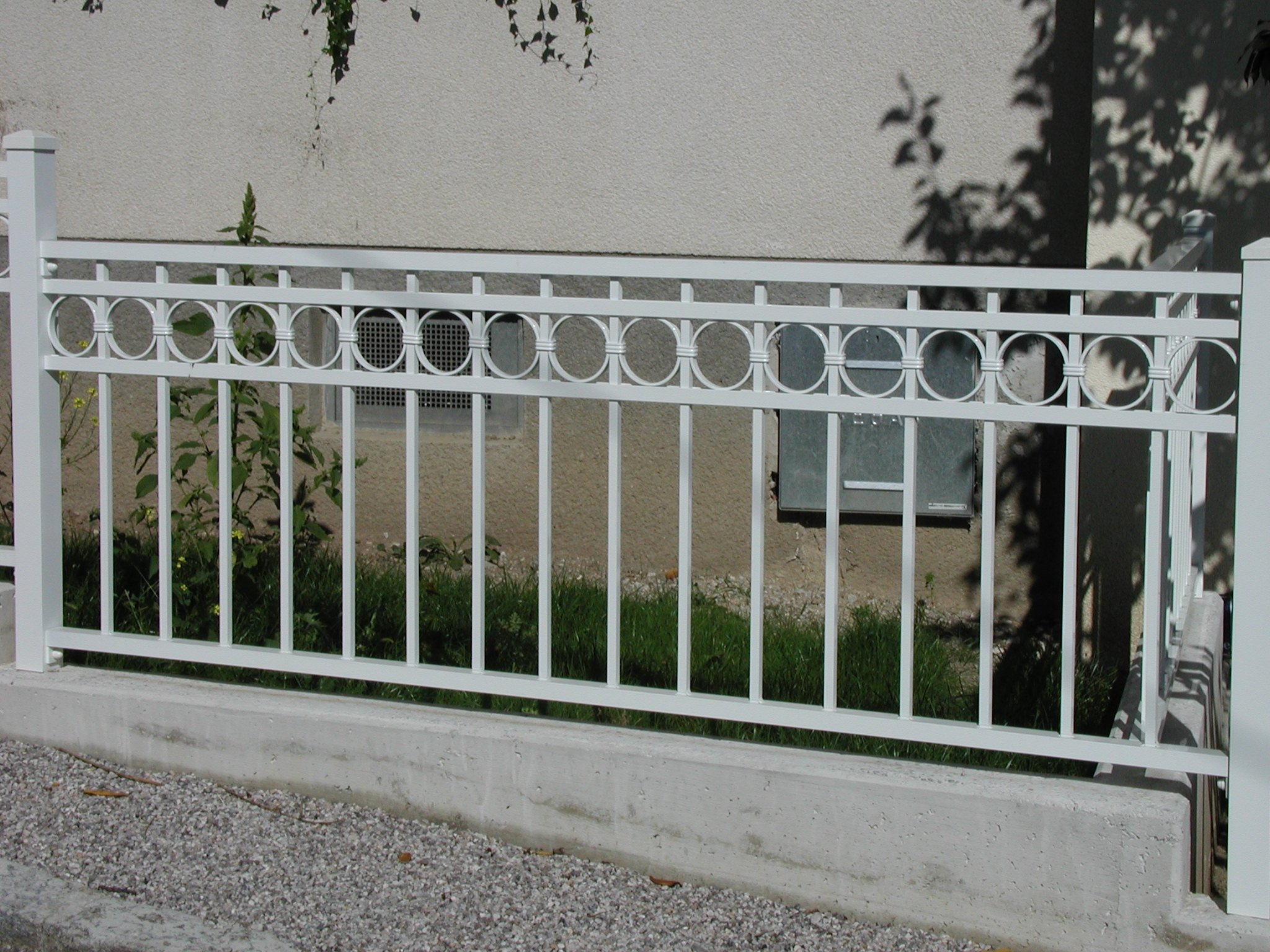 Stahlzaun Affordable Stahlzaun Mit Elektrisch Verzinkt Und With